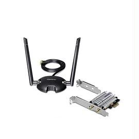 TRENDnet Network TEW-807ECH AC1200 High Power Dual Band Wireless PCI-Express Adapter Electronic Consumer Electronics