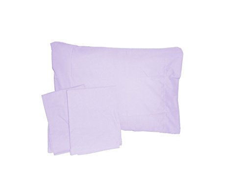Baby DollBedding Solid Crib/ Toddler Bed Sheet Set, Lavender