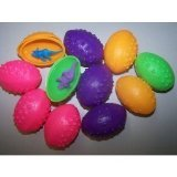 1 Dz Dinosaurs Eggs with Mini toy Dinosaur figures Inside - 12 Per Order by SmallToys