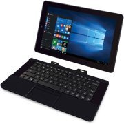 RCA Cambio 10.1 2-in-1 Tablet 32GB Intel Quad Core Windows 10 Black Touchscreen Laptop Computer with Bluetooth and WIFI by RCA