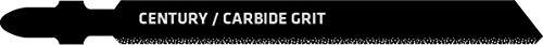Century Drill & Tool 6430 Tang Shank Carbide Grit Jig Saw Blade, 4