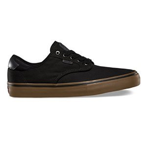Vans Chima Ferguson Pro Black Grey Gum Skateboard Shoes-Men 8.5, Women 10.0
