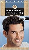 Clairol природных инстинктов для мужчин цвет волос, коричнево-черный (M17)