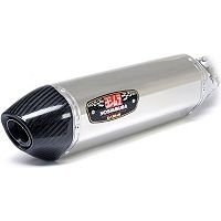 R77 Carbon Yoshimura (Yoshimura 196583 R-77 Slip-On Muffler (Stainless Sleeve with Carbon End Cap))