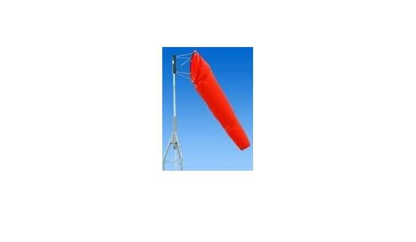 Orange Vinyl-Coated Nylon Honeywell Flag Replacement 18 in 2 Flags x 18 in