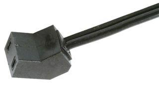 QUALTEK ELECTRONICS 07145-24 FAN POWER CORD (100 pieces)