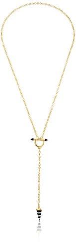 Noir Jewelry Morrison Y-Shaped Necklace, 25