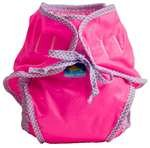Kushies Swim Diaper, Pink Solid, Large