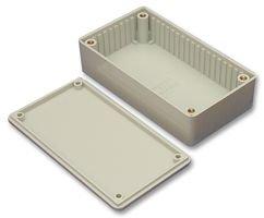HAMMOND 1591GBK Enclosure, Flame Retardant, UL94V-0, IP54, Multipurpose, 121 mm, 94 mm, 34 mm (1 piece)