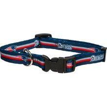 New England Patriots Small Pet Dog Collar (Small)