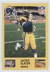 Jackie Card Slater (Jackie Slater (Football Card) 1987 Jell-O Los Angeles Rams - [Base] #78)