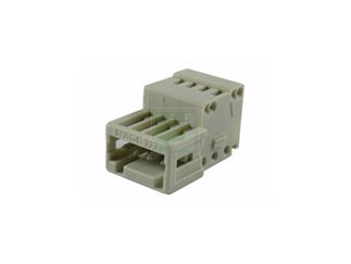 WAGO 733-204 4 Position 2.5 mm Pitch 28-20 AWG Cage Clamp Male Connector Terminal Block - 200 item(s) by WAGO