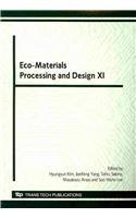 Eco-Materials Processing and Design XI (Materials Science Forum)