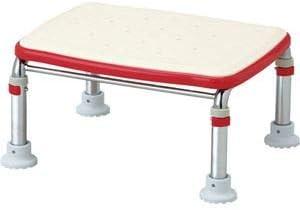 アロン化成ステンレス製浴槽台R(あしぴた)標準タイプ ソフト20-30 レッド 536-456 1台