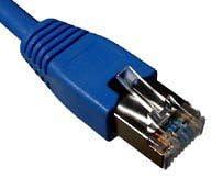 Telegrtner Patch Cable Cat 7 F-STP LSZH 1 m Blue