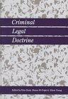 Criminal Legal Doctrine 9781855219694