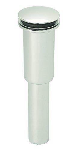 Westbrass D410E-05 Umbrella Universal Lavatory Drain - Exposed, Polished Nickel