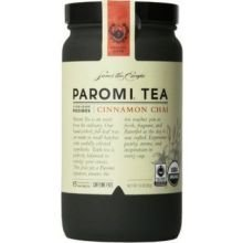 Paromi Tea Organic Rooibos Cinnamon Chai Tea - 15 bags per pack -- 6 packs per case.