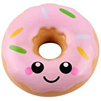 SquishMeez Squishy Pembe Donut Jumbo Slow Rising Yavaş Yükselen Sukuşi
