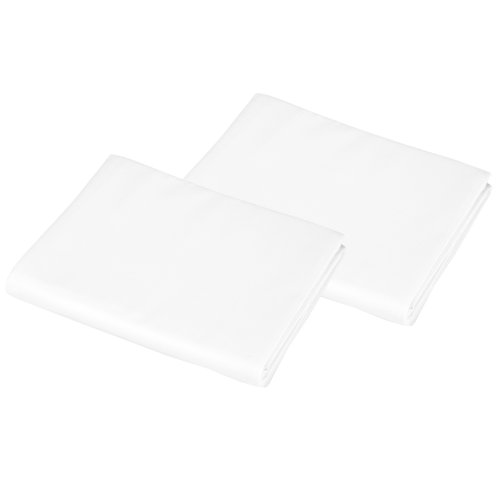 American Baby Company Value Jersey Knit Porta-Crib Sheet, 2 Pack - White