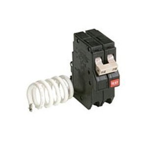 cutler hammer ch 2 pole 50 amp breaker with gfi for ch series ()