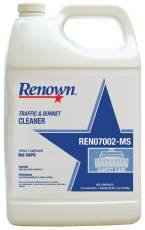 RENOWN GIDDS-SX-0463850 Traffic And Bonnet Cleaner, 1 Gallon, 4 Per Case - SX-0463850