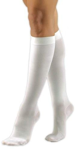 BSN Medical H2313 Activa Sheer Therapy Stocking|,| Knee High|,| Control Top|,| Size C|,| 15-20 mmHg|,| White