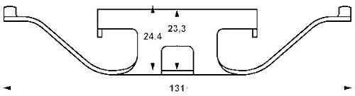 ATE 11.8116-0315.2 Bremssattelfeder für BMW