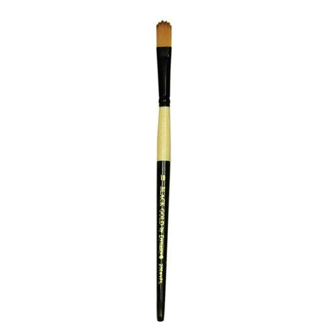206WFIL Black Gold by Dynasty Wave Filbert Brush Size 8