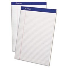 * Writing Pad, Narrow Rule, Letter, White, Micro Perfed, 50-Sheets, Dozen by 4COU by 4COU