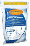 vacuum cleaner bags oreck cc - Replacement Oreck Type CC Micro Filtration Bags 8 Pack by Envirocare