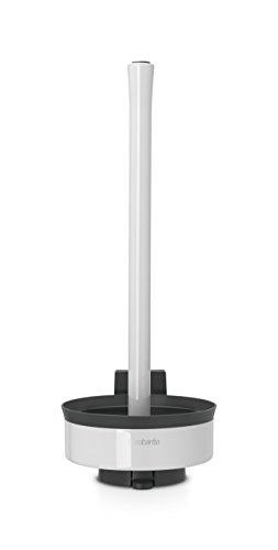 Brabantia Toilet Roll Dispenser - Pure White ()