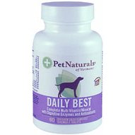 PET NATURALS OF VERMONT Daily Best For Dogs 60 TAB