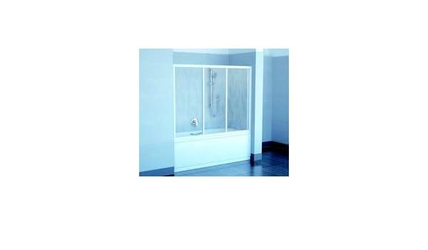 Ravak AVDP3 120 blanco/translúcido para puerta corredera 1200 mm de pantalla la bañera: Amazon.es: Hogar