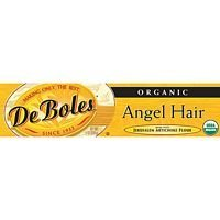 Deboles Artichoke Angel Hair Pasta, 8 Ounce - 12 per case.