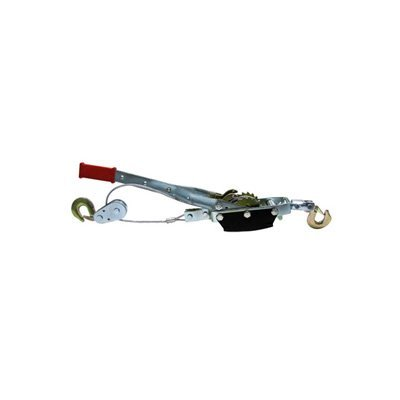 5 Ton Hand Ratchet Hoist Come Along Pulley Cable System 2 Hook 2 Gear Power Puller Winch (Boat Hand Puller)
