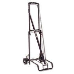 STEBCO 390002BLK Luggage Cart 125lb Capacity 13 x 10 Platform Black Steel ()