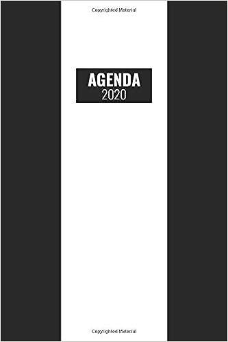Agenda 2020: Gennaio A Dicembre 2020 / 12 Mesi / Italiano ...