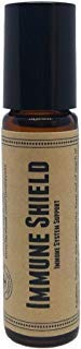 Immune Shield Pre-Diluted Essential Oil Roll-On Blend 10ml (1/3oz) | Flu, Viruses, Colds, Antiseptic, Improved Thieves -