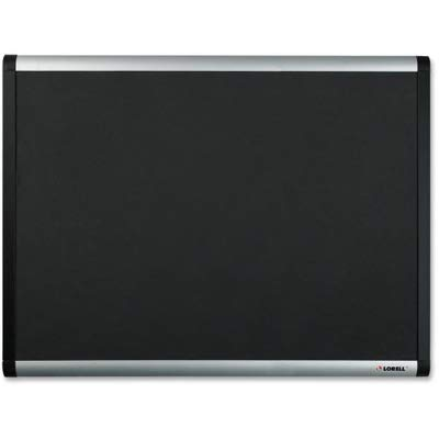 - Lorell Mesh Bulletin Board - 36quot; Height x 24quot; Width - Fabric Surface - Anodized Aluminum Frame