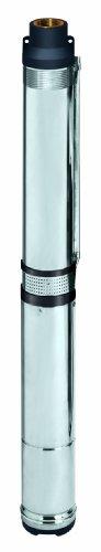 Einhell Tiefbrunnenpumpe GC-DW 1300 N (1300 W, max. 5000 l/h, 20 m Eintauchtiefe, 65 m Förderhöhe, Edelstahlgehäuse, inkl. 22 m Ablassseil)