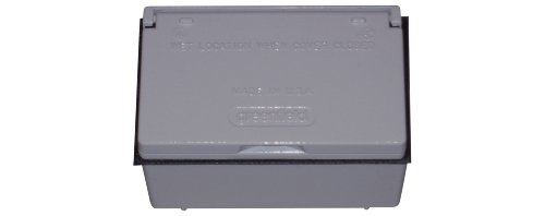 UPC 750762170717, Greenfield KGHBP Weatherproof Electrical, Outlet Kit with 1 Gang Box, Cover and GFCI Outlet, Gray