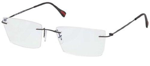 Prada Sport Men's Designer Eyewear, Black, - Red Sunglasses Prada And Black