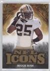 Reggie Bush #123/299 (Football Card) 2009 Upper Deck Icons NFL Icons Jersey [Memorabilia] #IC-RU