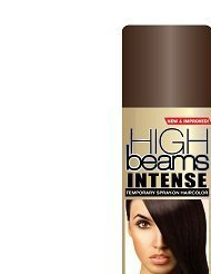 High Beams Intense Temporary Spray-On Hair Color - Darkest Warm Brown 2.7 oz (3 PACK) -