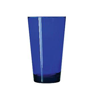Libbey® Cobalt Sheer Rim/DTE Blue Flare Cooler Glass; 17.25 oz., 12/Pack
