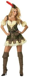 Racy Robin Hood Adult Costume - Large (Adult Racy Robin Hood)