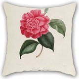 Flower Throw Pillow Covers 20 X 20 Inches / 50 By 50 Cm Gift Or Decor For Wife,kitchen,monther,floor,dining Room,couples - Twice (Rage Rubber Wig)