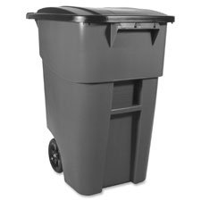 - Container,w/Lid,50 Gallon,23-3/8