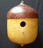 Solid Acorn Country Birdhouse (Acorn Birdhouse)